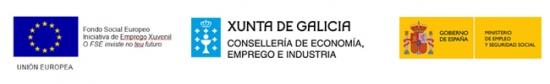 A Consellería de Economía, Emprego e Industria financia a contratación de dúas persoas inscritas no Sistema de Garantía Xuvenil