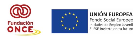 Fundación Once y el Fondo Social Europeo financian la formación 'Técnicas básicas en servicios de restauración'
